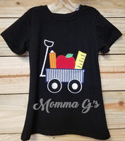 School Applique Shirt - Momma G's Screen Printing, Embroidery & More