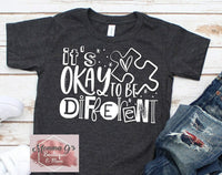 It's ok to be different T-shirt