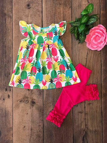 Pink Pineapple - Momma G's Children's Boutique, Screen Printing, Embroidery & More