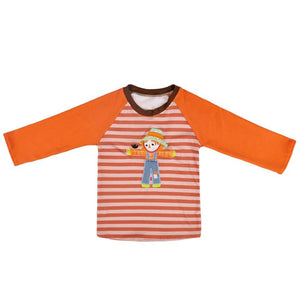 Boy's Scarecrow Raglan - Momma G's Boutique