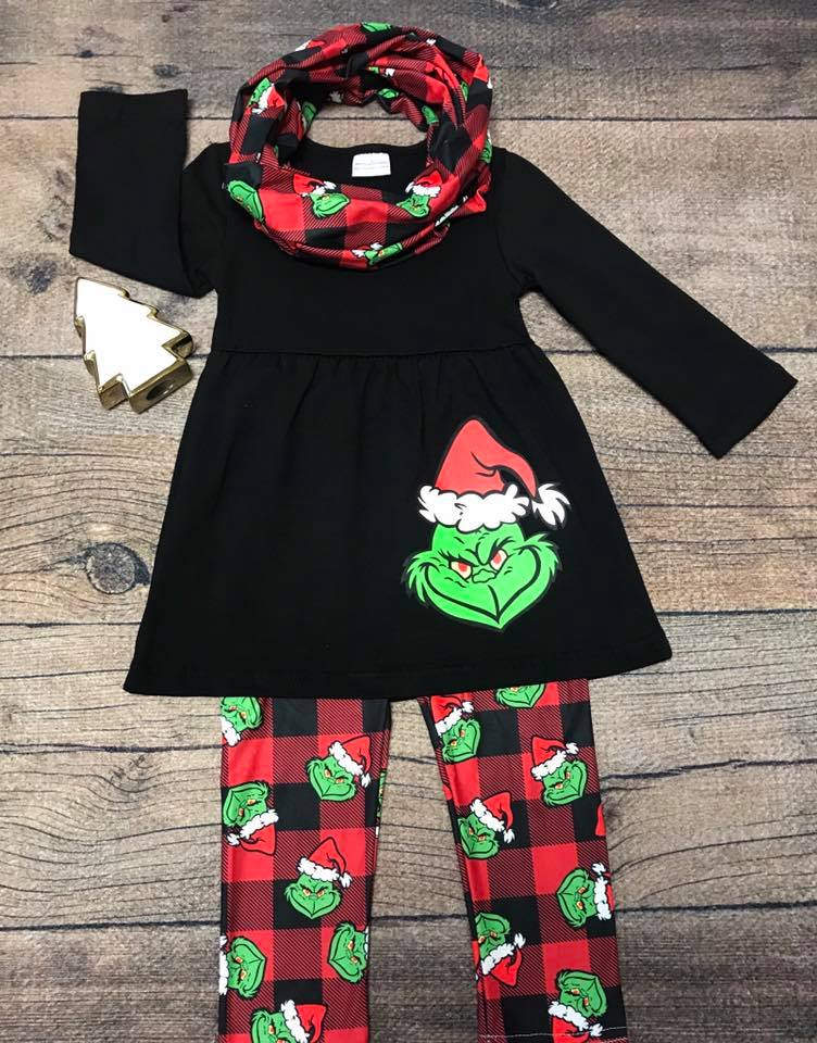 Your a Mean one Mr. Grinch - Momma G's Boutique