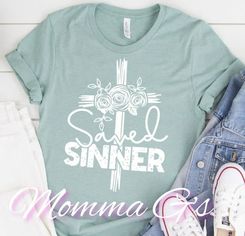 Saved Sinner - Momma G's Boutique