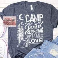 Camp Tents, Smores, Campfires LOVE - Momma G's Boutique