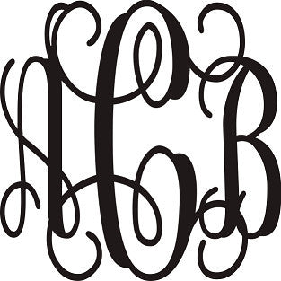 Monogram for Shirts - Momma G's Boutique