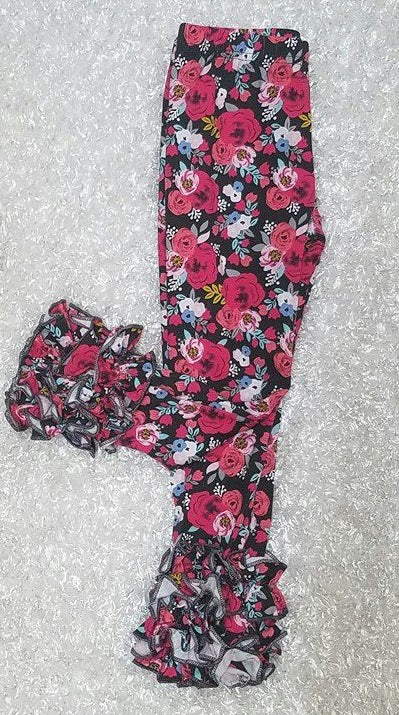 Brown and Pink Floral Icings - Momma G's Boutique