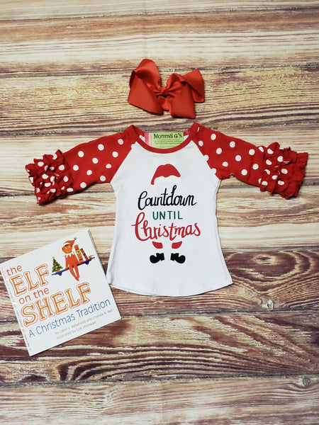 Christmas Countdown Raglan - Momma G's Boutique