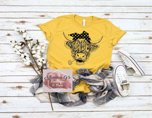 Frisky Cow T-shirt, tshirt, tee - Momma G's Children's Boutique, Screen Printing, Embroidery & More