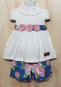 Floral Elegance - Momma G's Children's Boutique, Screen Printing, Embroidery & More