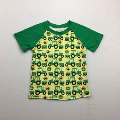 Green Tractor Shirts - Momma G's Boutique