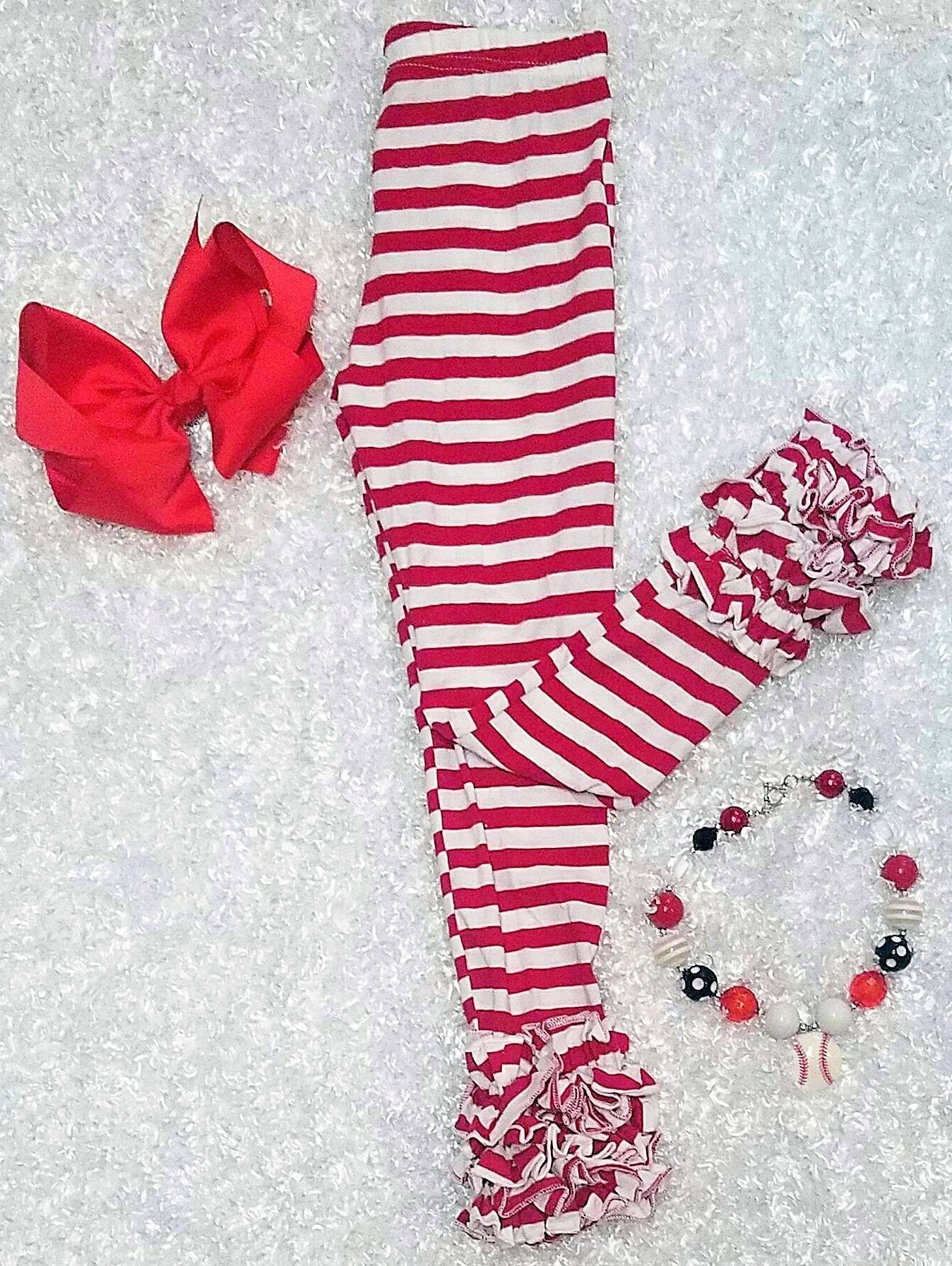Red Striped Icings - Momma G's Children's Boutique, Screen Printing, Embroidery & More