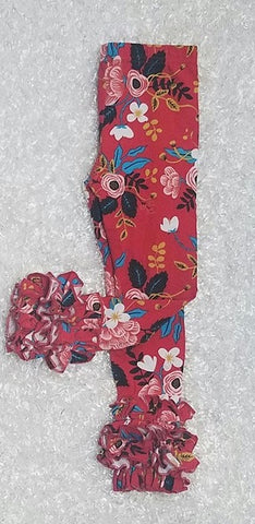 Red Floral Icings - Momma G's Boutique