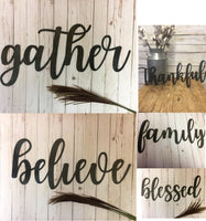 Wooden Signs - Momma G's Screen Printing, Embroidery & More