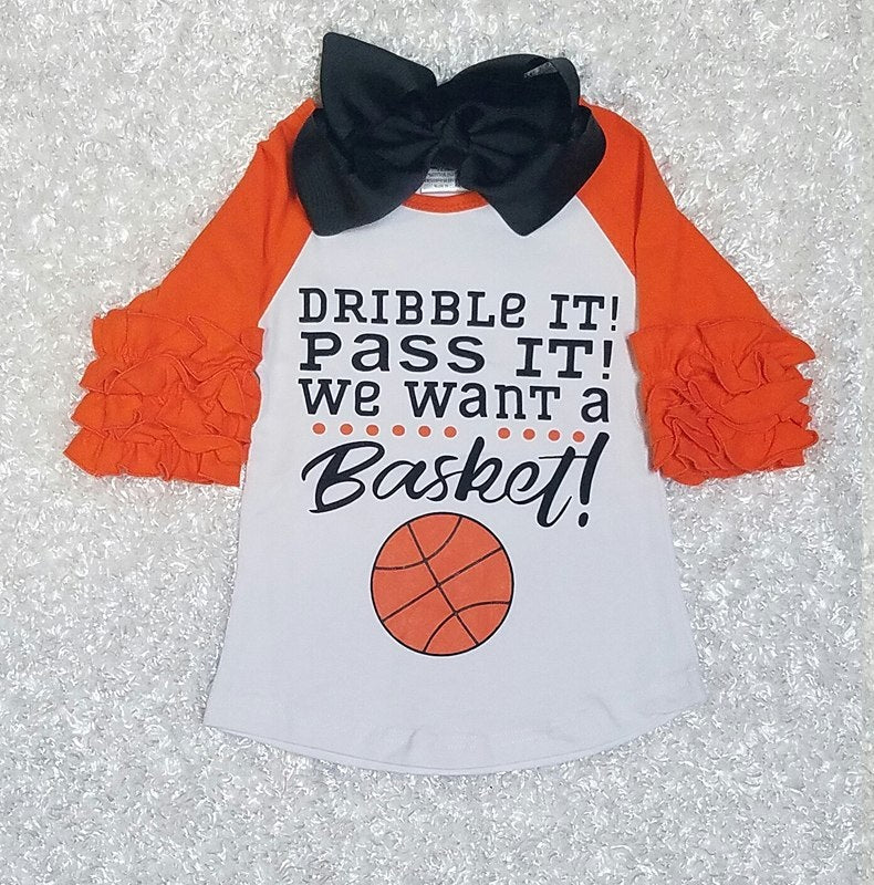 Basketball Shirt - Momma G's Boutique