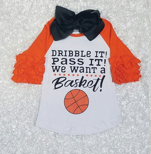 Basketball Shirt - Momma G's Children's Boutique, Screen Printing, Embroidery & More
