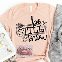 Be Still & Know - Momma G's Boutique