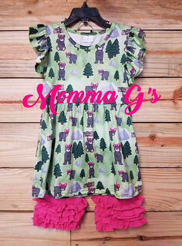 Smokey Mtn And Bears - Momma G's Boutique