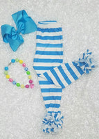 Blue and White Icing Pants - Momma G's Boutique