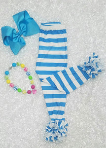 Blue and White Icing Pants - Momma G's Children's Boutique, Screen Printing, Embroidery & More