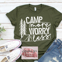 Camp More Worry Less - Momma G's Boutique