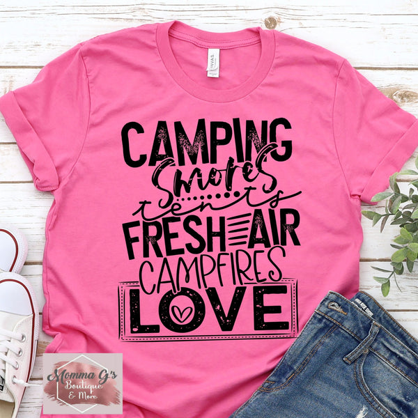 Camping Love - Momma G's Boutique