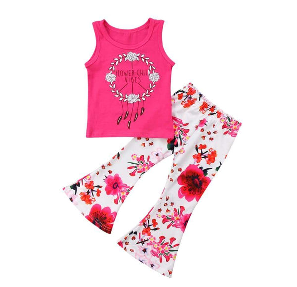 Flower Child Vibes - Momma G's Screen Printing, Embroidery & More