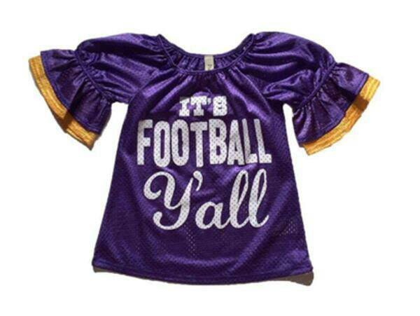 Football Ya'll - Momma G's Children's Boutique, Screen Printing, Embroidery & More