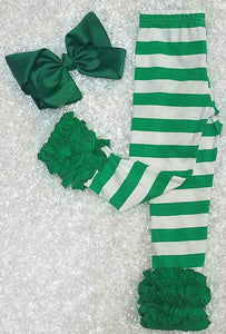 Green Stripe Icings - Momma G's Children's Boutique, Screen Printing, Embroidery & More