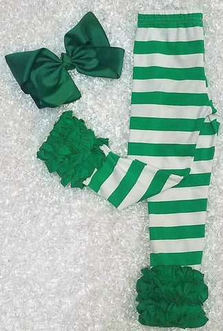 Green Stripe Icings - Momma G's Boutique