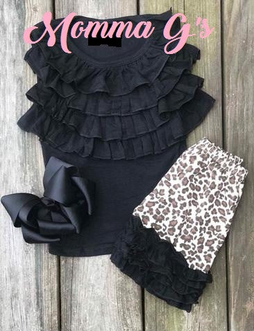 Leopard Print Set - Momma G's Screen Printing, Embroidery & More