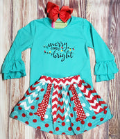 Merry and Bright - Momma G's Screen Printing, Embroidery & More