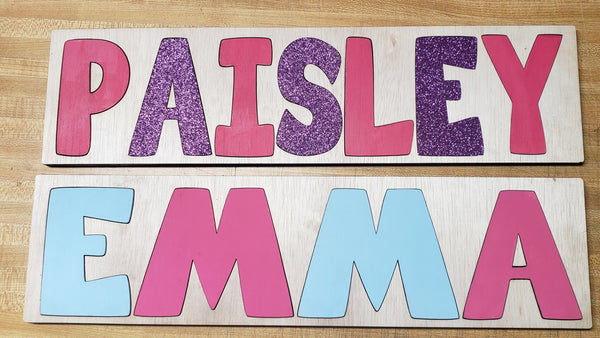 Name Puzzles - Momma G's Boutique