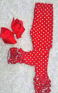 Red Polka Dot Icings - Momma G's Children's Boutique, Screen Printing, Embroidery & More