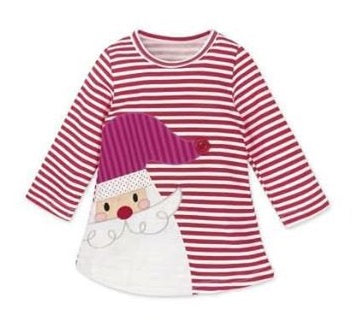 Santa Christmas Dress - Momma G's Screen Printing, Embroidery & More