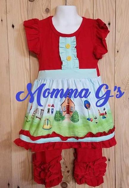 School Days - Momma G's Children's Boutique, Screen Printing, Embroidery & More
