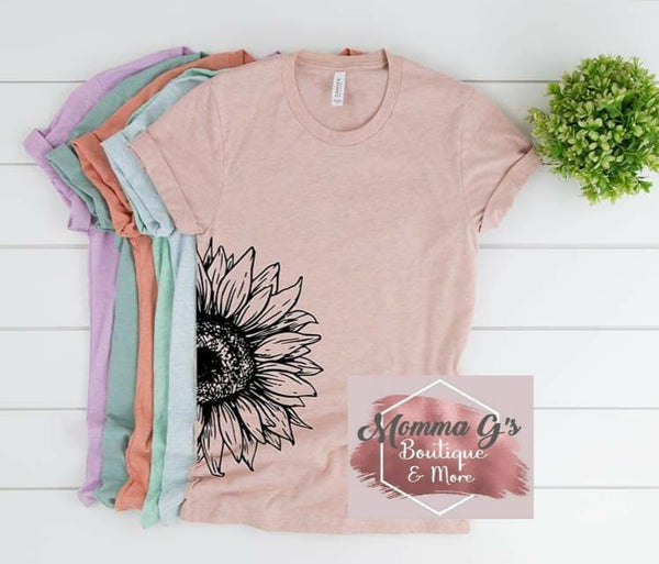 Sunflower Half - Momma G's Boutique