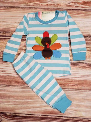 Boys Turkey Pj's - Momma G's Boutique