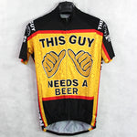 This Guy Needs A Beer Cycling Jersey
