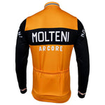 Molteni Arcore Retro Long Sleeve Cycling Jersey