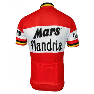 Mars Flandria Throwback Cycling Jersey