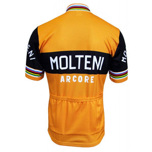 Molteni Arcore Eddy Merckx Throwback Cycling Jersey