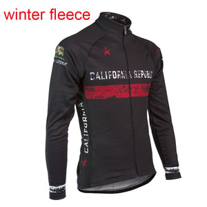 California Republic Cycling Fleece Black