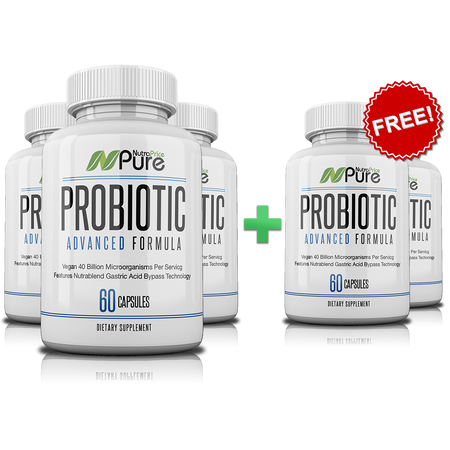 NutraPrice Pure Probiotic - 40 Billion CFU