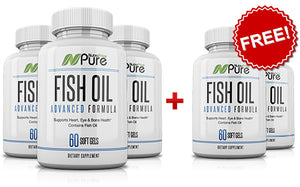 NutraPrice Pure Fish Oil Formula with Omega 3 Fatty Acids