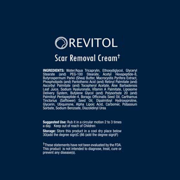 Revitol Scar Removal Cream Shop My Health