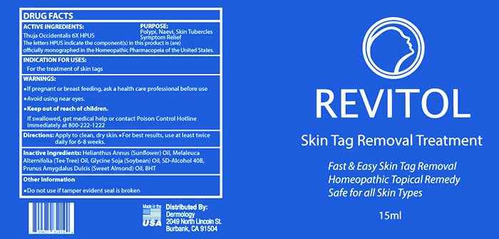 Revitol Skin Tag Remover Shop My Health