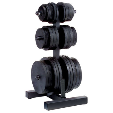 Body Solid Olympic Weight Plate Tree & Bar Holder WT46 - GymBasis Store