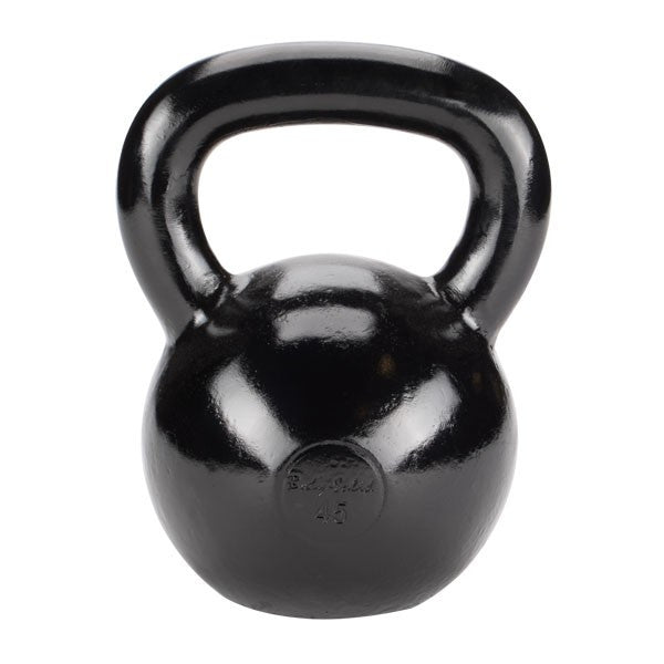 Body Solid 45 lb Cast Iron Kettlebell - GymBasis Store