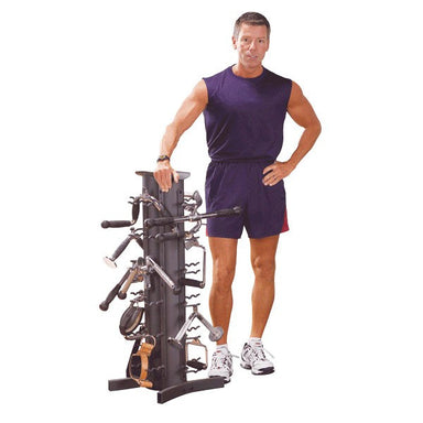 Cable Attachments with Accessory Rack - GymBasis Store