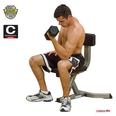 Body-Solid GST20 Utility Stool Bench - GymBasis Store