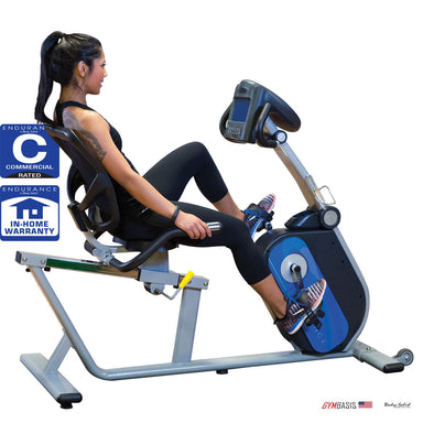 Body-Solid B4R Commercial Recumbent Bike - GymBasis Store